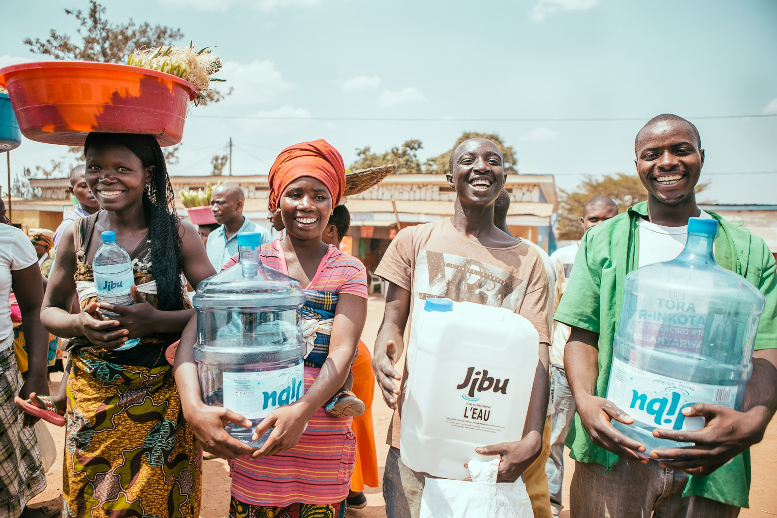 Jibu capitalizes and equips emerging market entrepreneurs to create affordable access to drinking water and other necessities