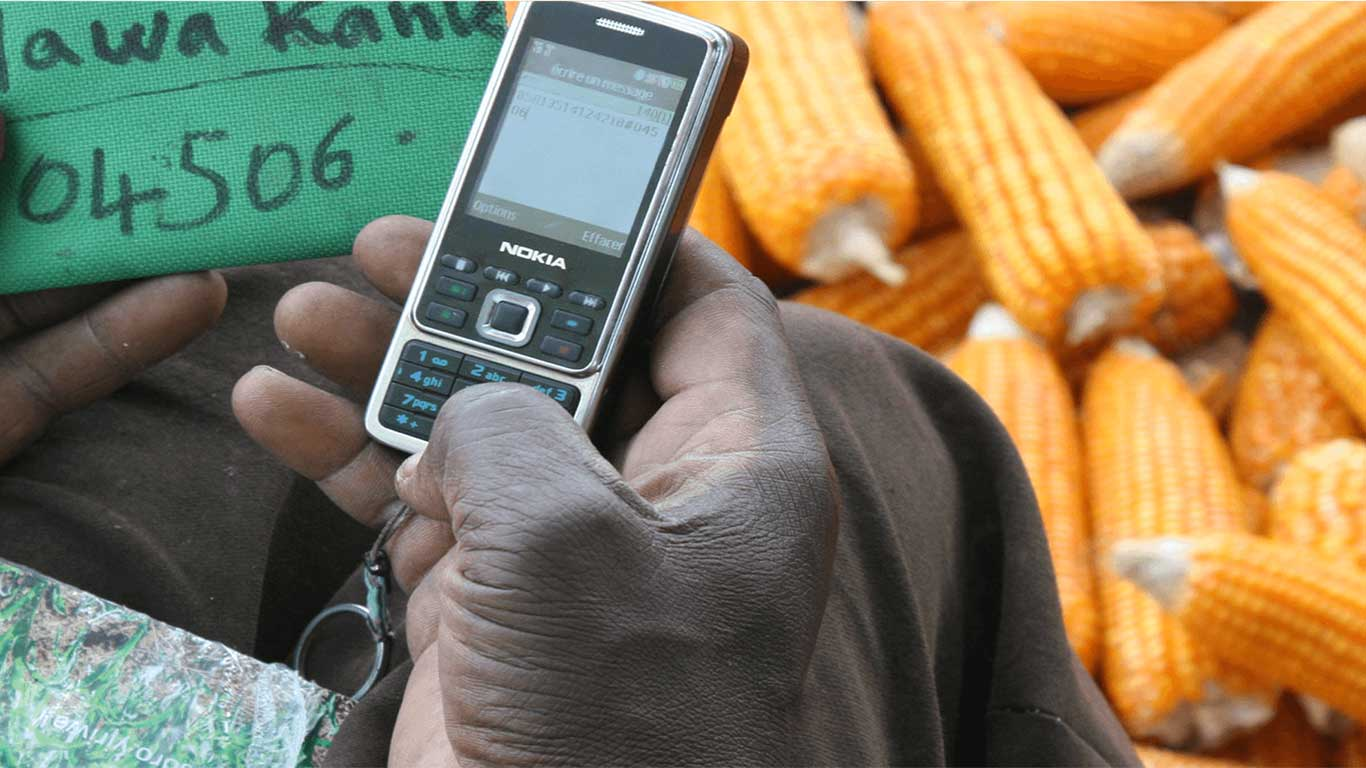 myAgro developed a mobile layaway system that is based on habits and behaviors that are already part of smallholders' lives.